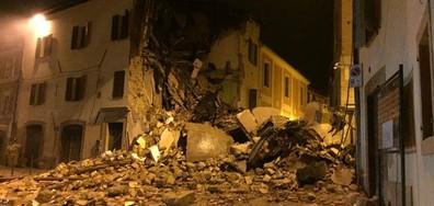 Италия в паника след силните трусове (ВИДЕО+СНИМКИ)