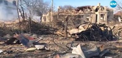 Първи кадри от разрушените домове в Хитрино (ВИДЕО+СНИМКИ)