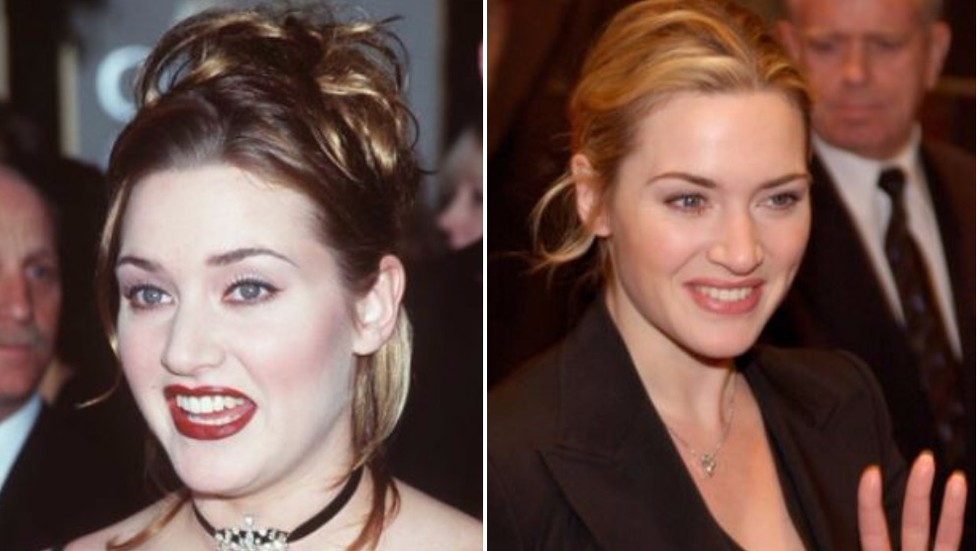 Кейт Уинслет преди и сега