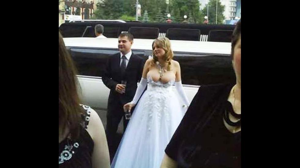 Абсурдни сватбени снимки