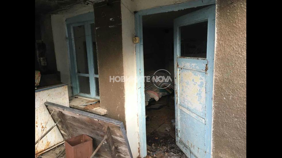 Къщата, в която вероятно се е самоубил Росен Ангелов