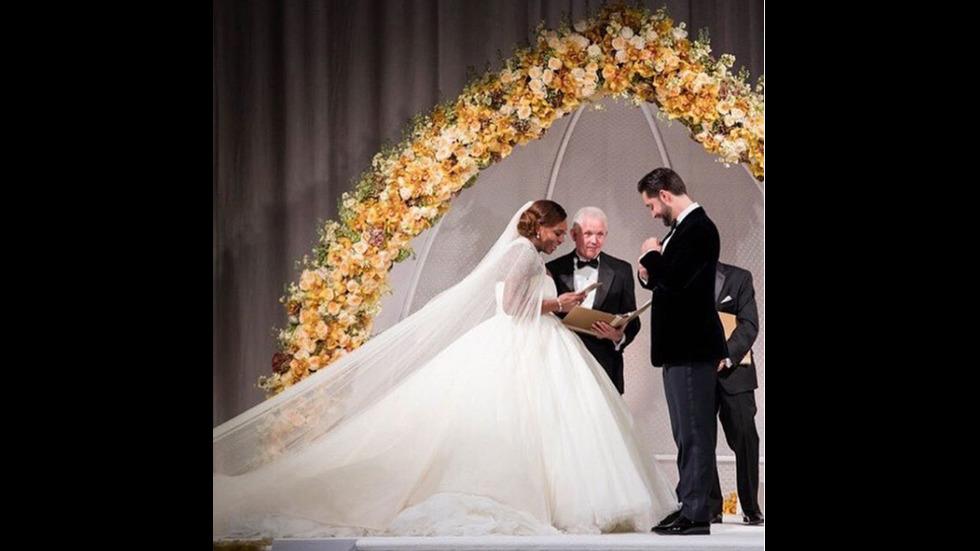 Бляскавата сватба на Серина Уилямс