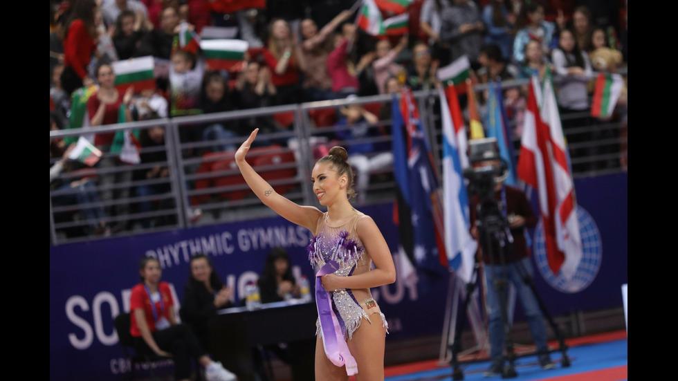 """Катрин Тасева с трети сребърен медал от финалите в """"Арена Армеец"""""""