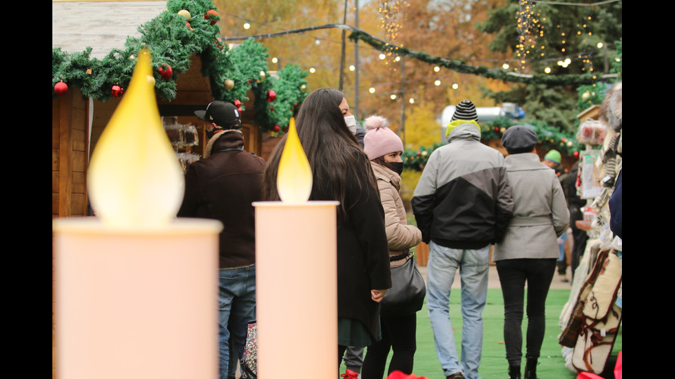 Коледният дух завладя София