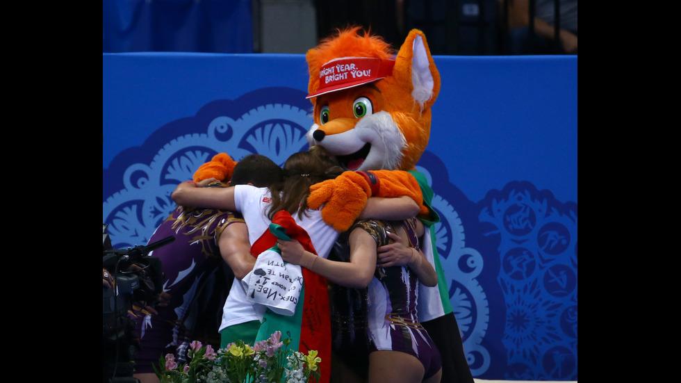 Сребро и 10-и медал за България на Европейските игри в Минск