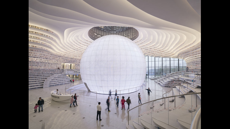 Най-невероятната библиотека е в Китай