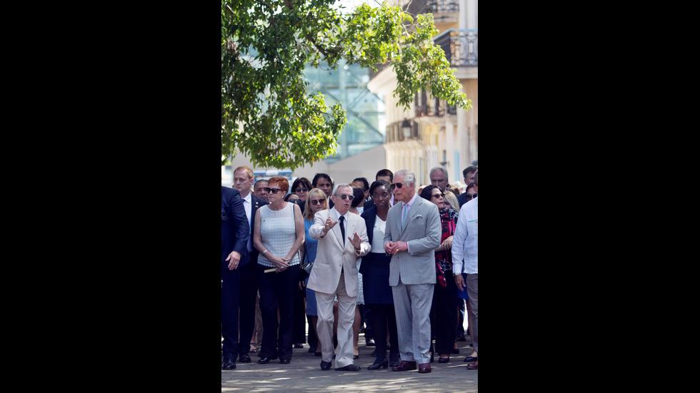 Визитата на принц Чарлз в Хавана