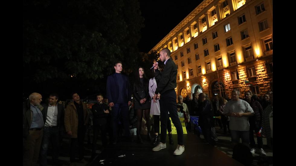 99-а вечер на антиправителствени протести