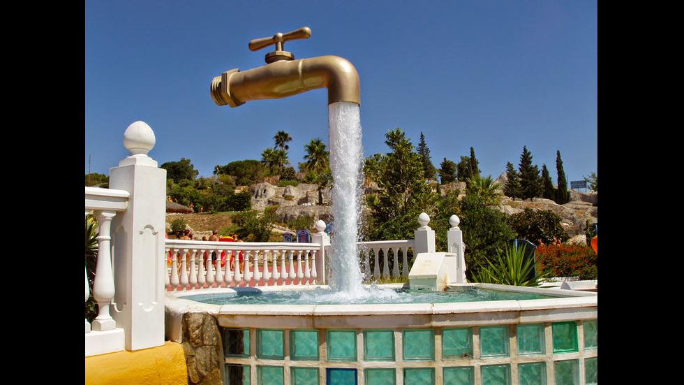 Магическото кранче, Кадис, Испания
