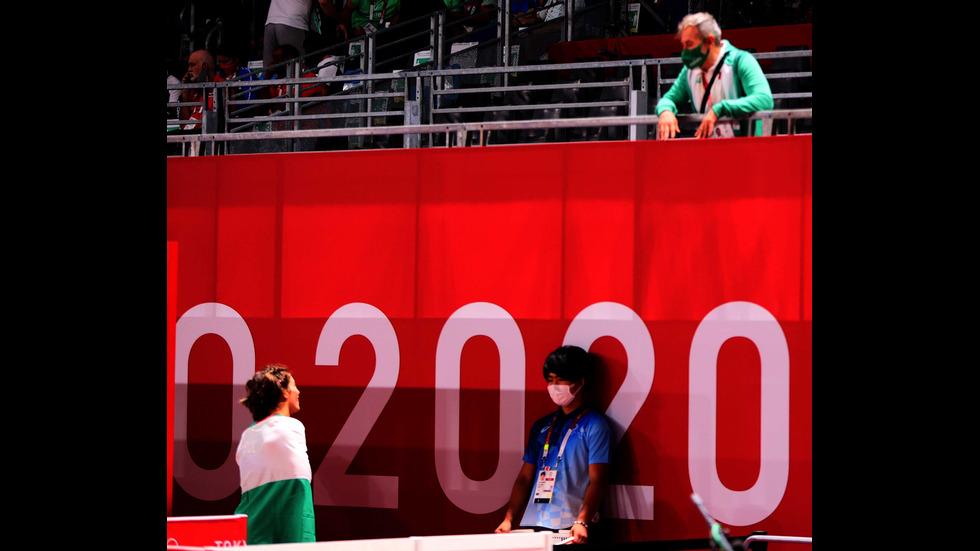 Тайбе Юсеин се качи на почетната стълбичка в Токио