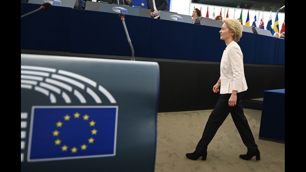 Урсула фон дер Лайен в Европарламента