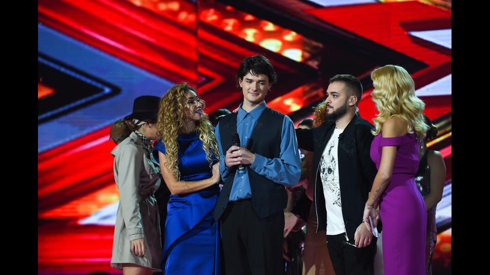 Нощта на киното на петия лайв концерт в X Factor