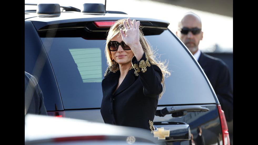 Мелания Тръмп в Италия