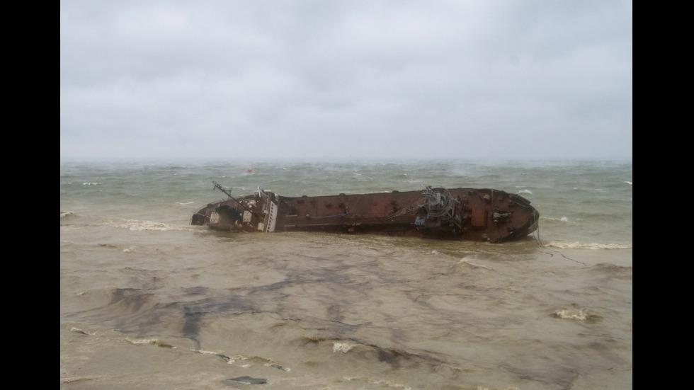 Авария с танкер в Черно море