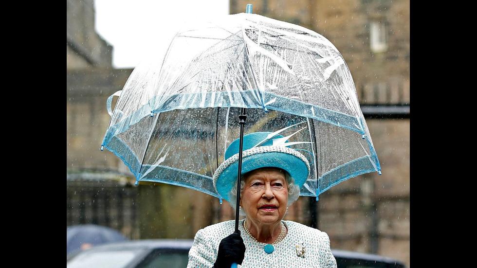 Посещенията на Елизабет Втора в херцогство Ланкастър
