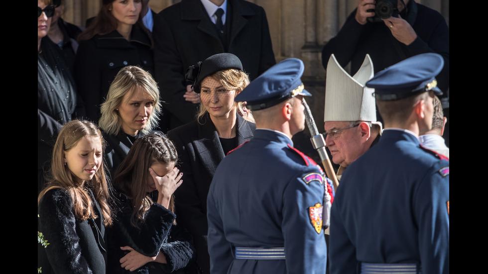 Чехия се прощава с Карел Гот