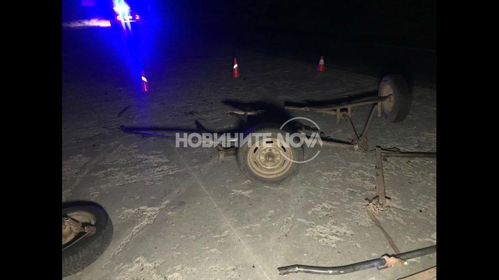 Млад мъж загина при тежка катастрофа на Подбалканския път