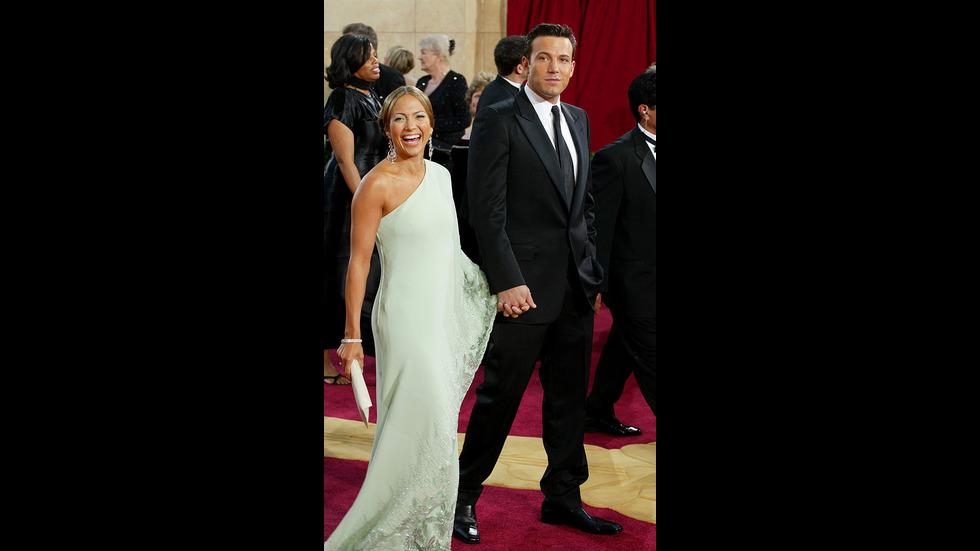 Бившите звездни двойки, които сияеха на червения килим