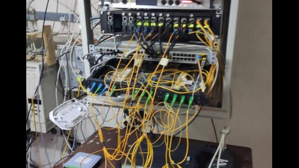 ГДБОП хвана незаконни кабелни оператори в Североизточна България