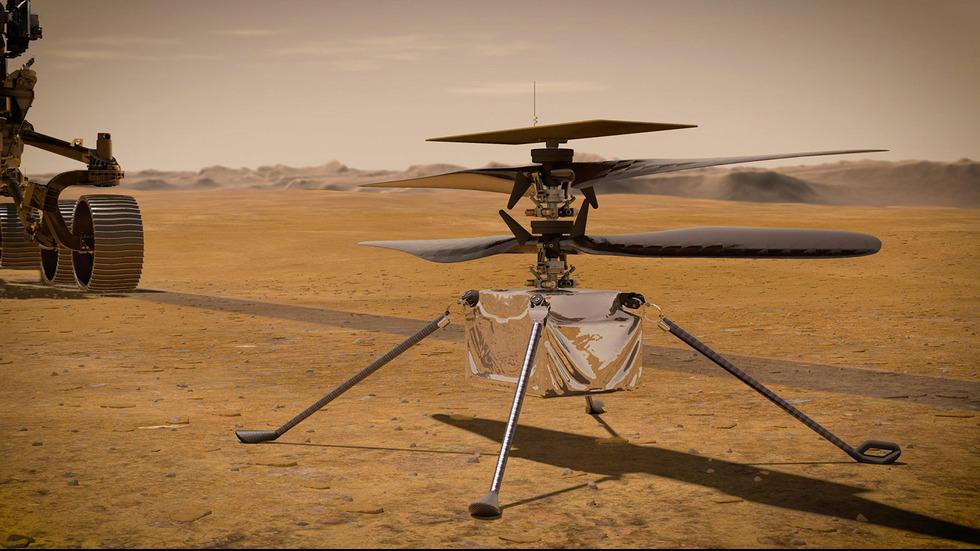 Роувърът на НАСА отбеляза сто дни на Марс