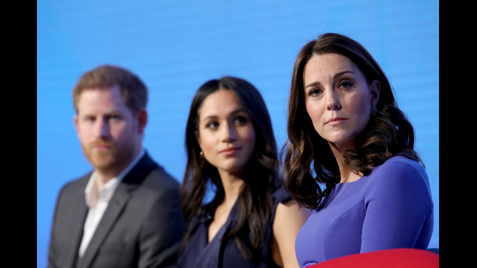 Уилям, Кейт, Хари и Меган за първи път заедно на официално събитие
