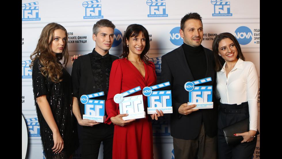 """Вторите годишни награди """"NOVA подкрепя българските филми"""""""