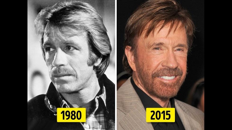 Големите звезди от шоубизнеса - преди и сега