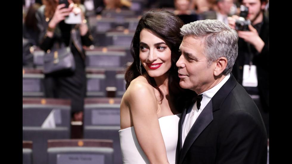 Джордж Клуни и Амал - любима звездна двойка