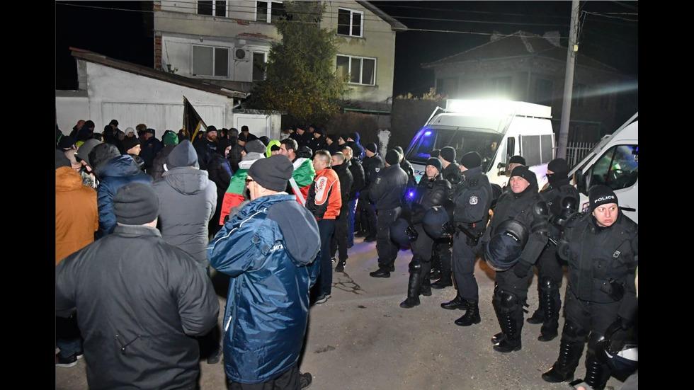 Жителите на Войводиново - на протест за трети път