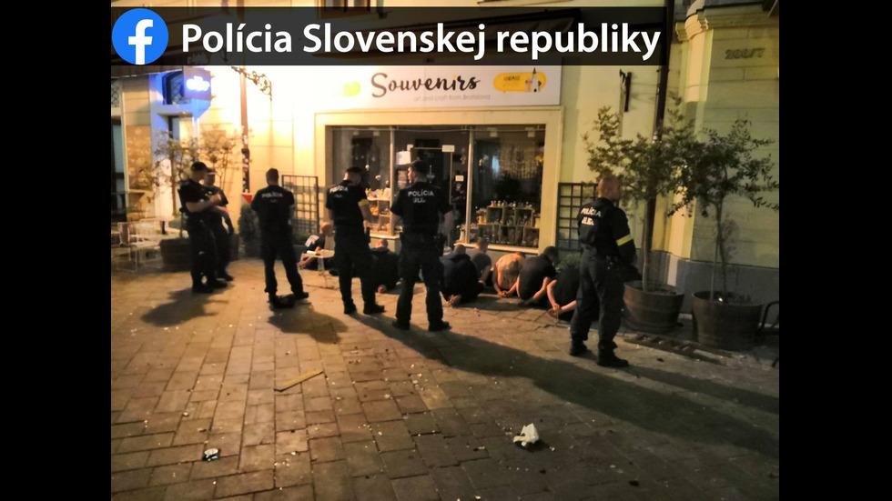 """Ранени и арестувани след бой между фенове на """"Левски"""" и полски и холандски запалянковци"""
