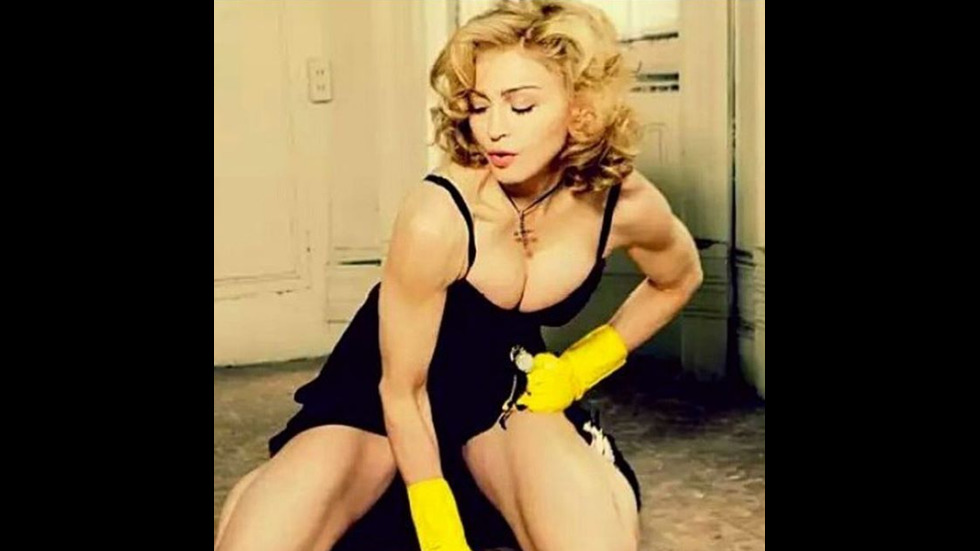58-годишната Мадона с перфектна форма