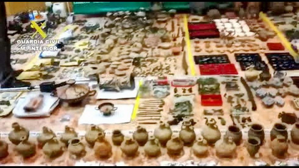 30 000 спасени антични предмета и антики се връщат у нас