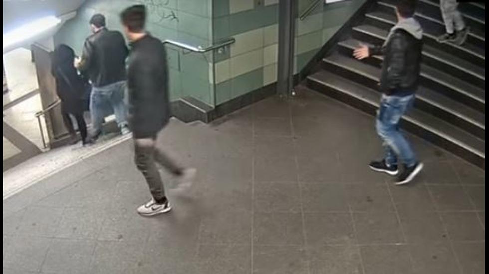 Нападението над жена в метрото в Берлин