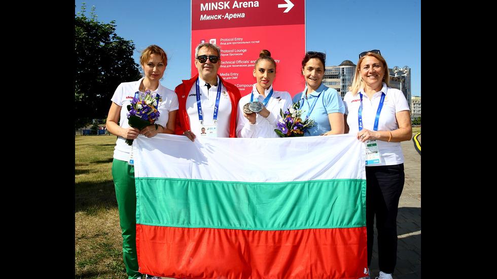 Катрин Тасева с два медала от Европейските игри в Минск (ВИДЕО)