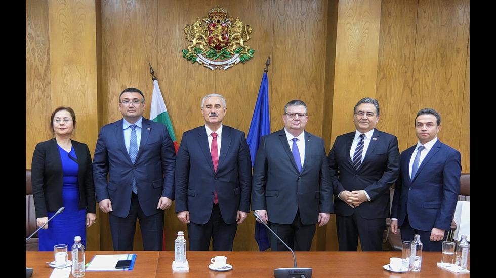 Вътрешният министър се срещна с главния прокурор на Турция