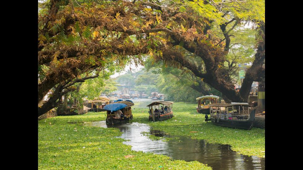 Красиви градове с водни канали, вместо улици