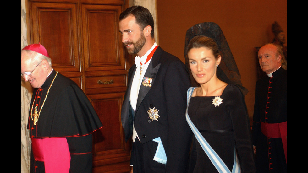 Принцеси и кралици на аудиенция при Папата