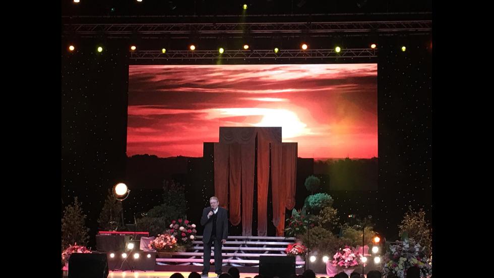 Концертът на Михаил Белчев