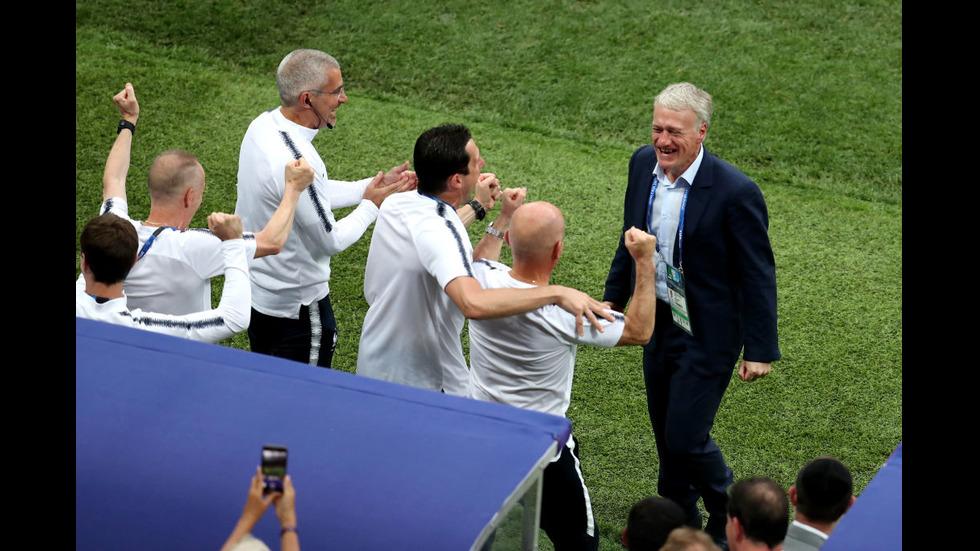 НАГРАЖДАВАНЕТО: Франция е световният шампион
