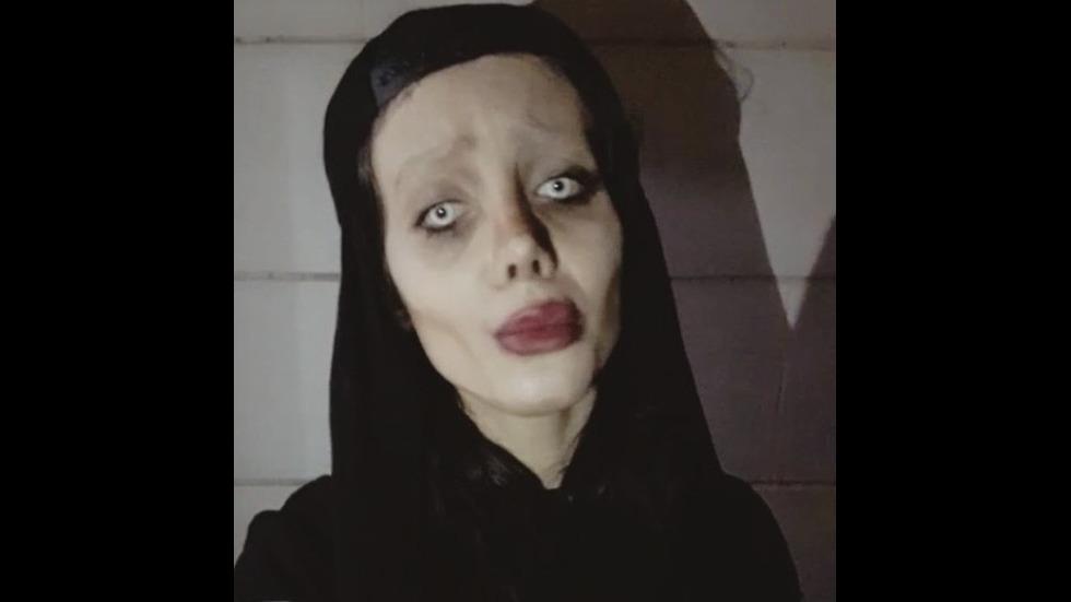 Момиче претърпя 50 операции, за да заприлича на Анджелина Джоли