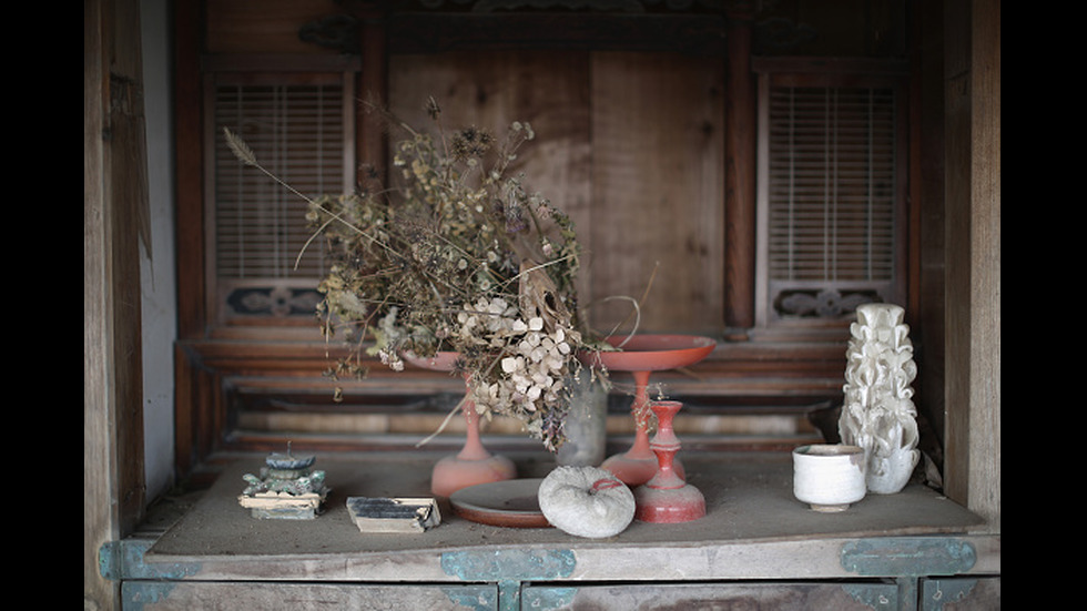 Останките от катастрофата във Фукушима.