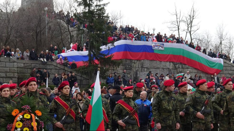 България чества 141-вата годишнина от Освобождението