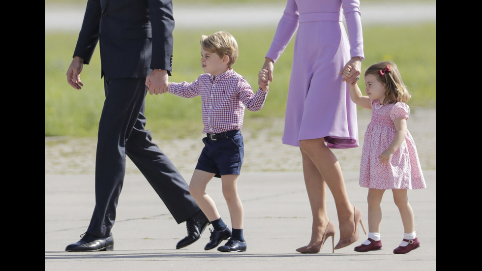 Принц Джордж на 4 г.