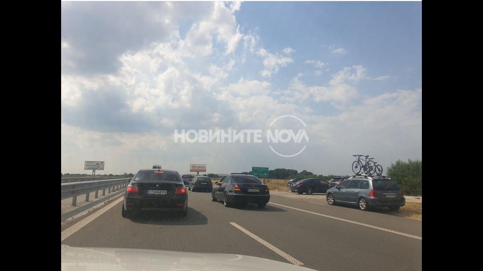"""Катастрофа на магистрала """"Тракия"""""""