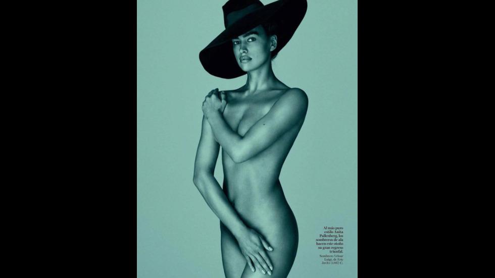 Ирина Шейк показа перфектно тяло след раждането