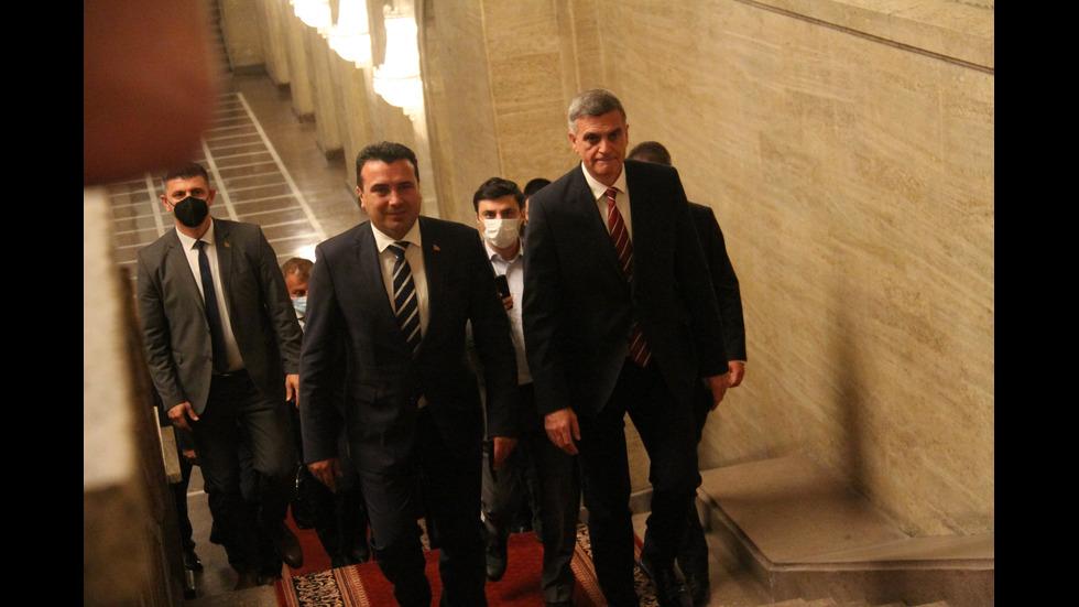 Визитата на Зоран Заев в България