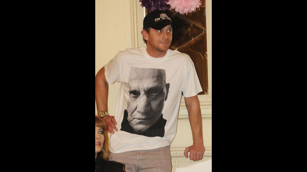 Любимият български актьор Юлиян Вергов на 49