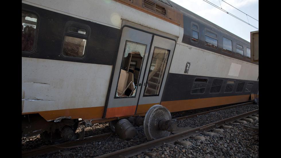 Дерайлира влак в Мароко, има жертви