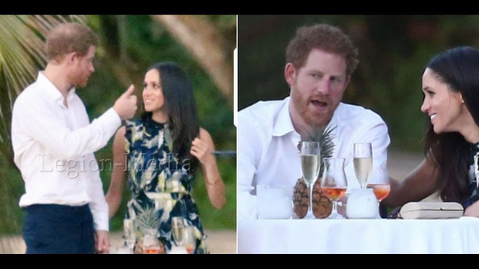 Принц Хари и Меган Маркъл на сватба в Ямайка