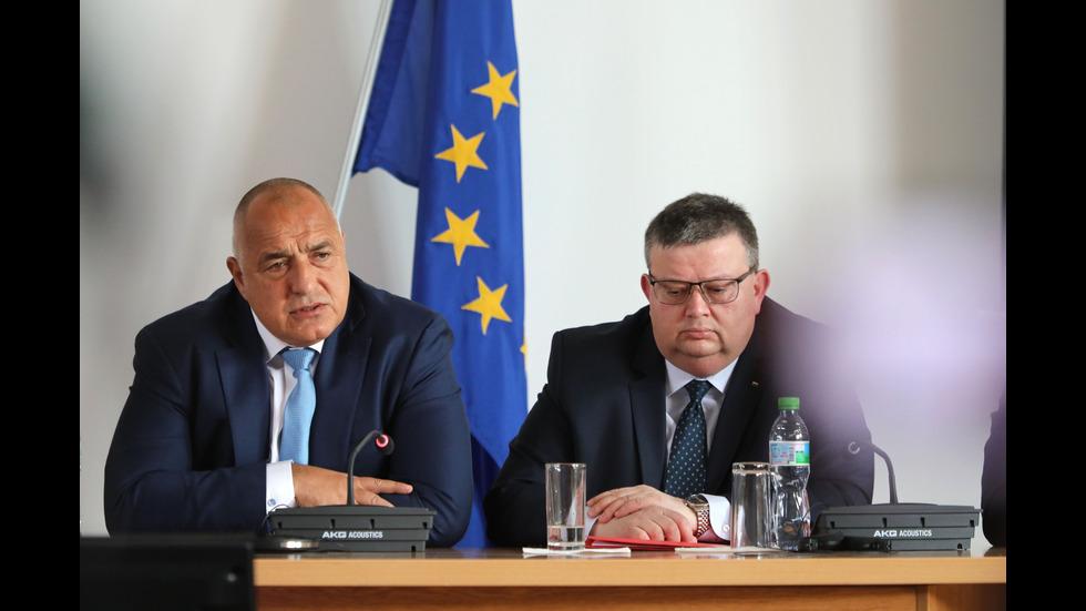 Бойко Борисов на Национално съвещание на ръководството на МВР